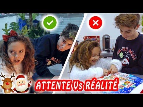 ATTENTE VS RÉALITÉ : Noël en famille !