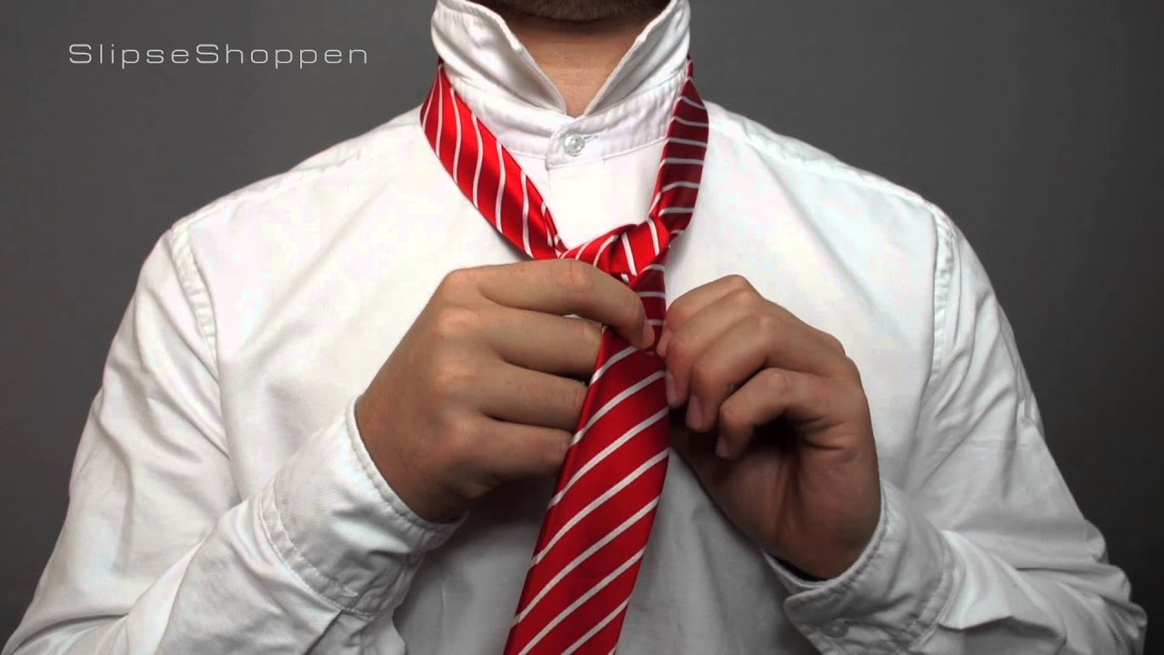 Download Dobbelt Windsor slipseknude - Hvordan binder man et slips?