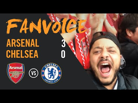 They didn't stand a chance!!! Arsenal 3-0 Chelsea | Sanchez, Walcott, Ozil Goals | 90min Fanvoice