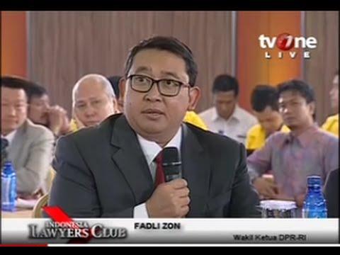 Indonesia Lawyers Club (21 Oktober 2014) : Jokowi-JK ...