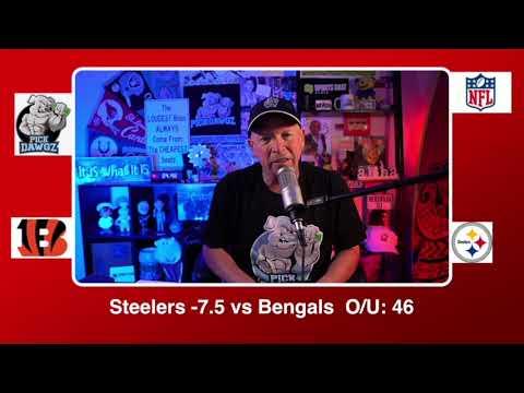 Pittsburgh Steelers vs Cincinnati Bengals 11/15/20 NFL Pick and Prediction Sunday Week 10 NFL