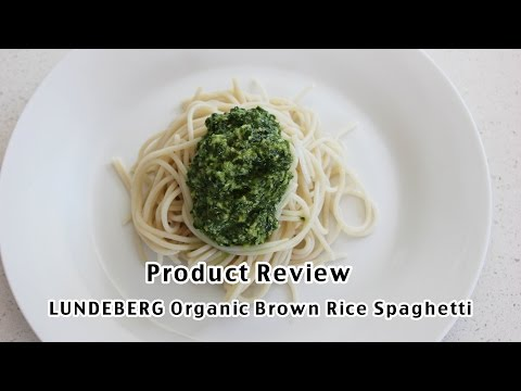 Product Review | LUNDBERG Organic Brown Rice Spaghetti