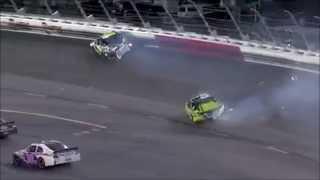 NASCAR Wrecks and Flips at Darlington