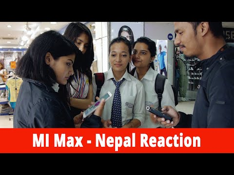 Mi Max - Nepal Reaction | Gadgets In Nepal