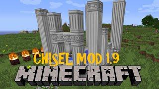 CHISEL MOD! Minecraft (1.9) Review en español 2016