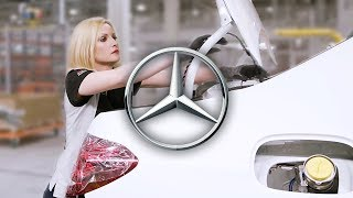 Mercedes-Benz factory in Russia – E-Class Production Line