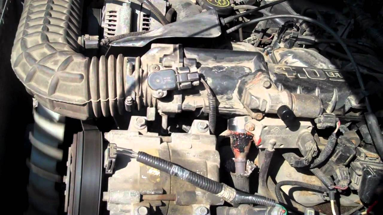 how to find a vacuum leak ford ranger 4 0 v6 youtubehow to find a vacuum [ 1280 x 720 Pixel ]