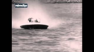 Hamburg 1970 European Grand Prix powerboating SpeedBoat 300cc Germany