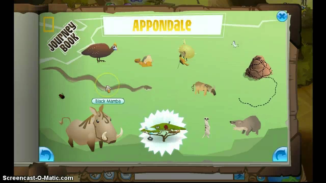 Animal Jam--Appondale Journey Book - YouTube