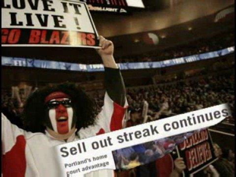 Blazers Ticket Promotion 08-09