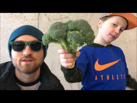 Dad and Son Rap for School Project | Fresh Produce by Boyz N' Berries