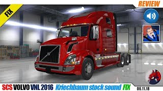 "[""American Truck Simulator"", ""mods"", ""modifications"", ""simulators"", ""SCS VOLVO VNL 2016"", ""Kriechbaum stock sound FIX""]"