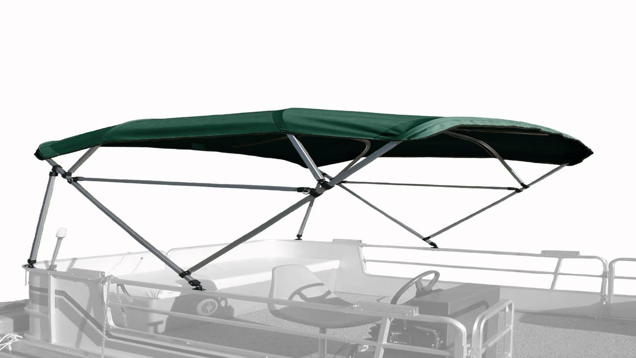 8 x 8 Sunbrella Replacement Pontoon Bimini Top and Boot  sc 1 st  YouTube : pontoon canopy replacement - memphite.com