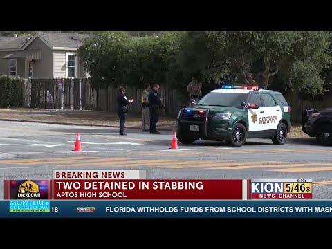 Lockdown lifted at Aptos High School after stabbing