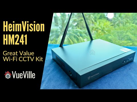 A Budget Wi-Fi Security Camera Kit - Heimvision HM241 Review by VueVille