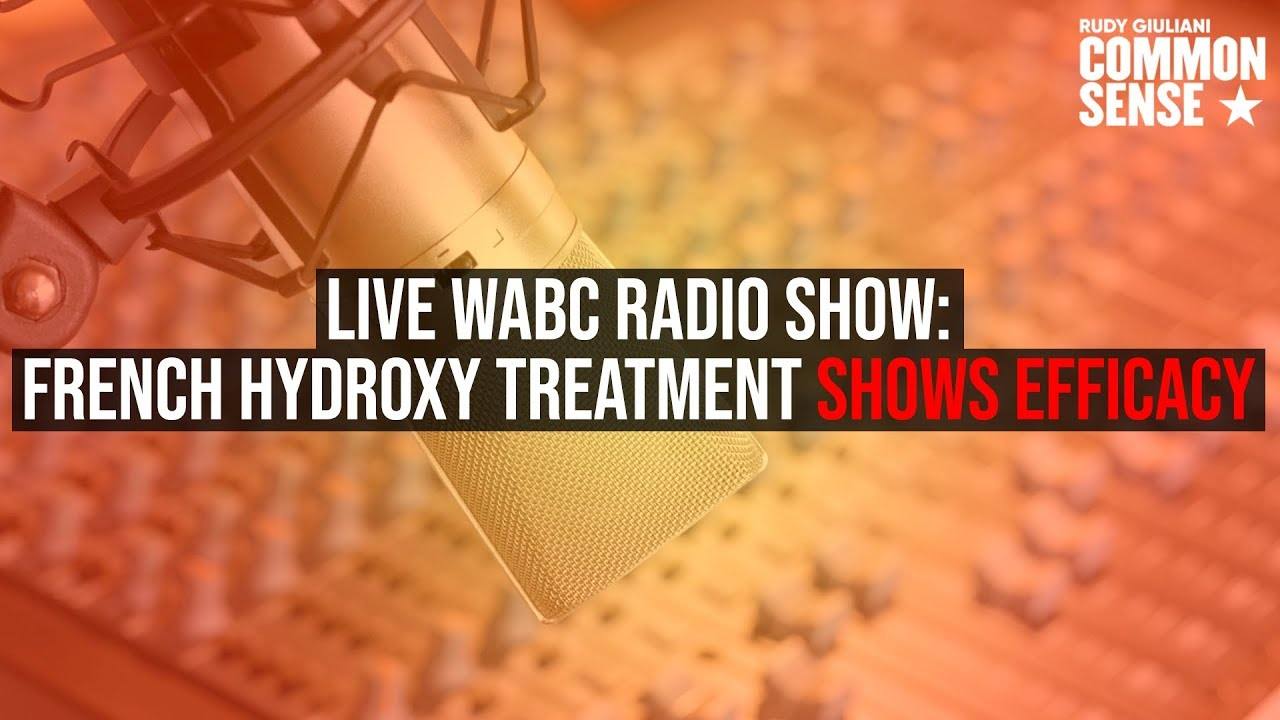 LIVE WABC Radio Show Hosted by Mayor Giuliani with Special Guests Charlie Kirk and Dr. Robert Hariri