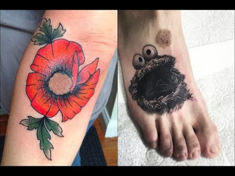 Funny News: These 35 BREATHTAKING tattoos transform birthmarks into works of art