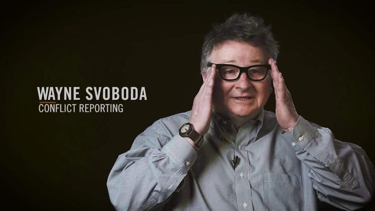 Wayne Svoboda - Newmark J-School