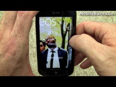 Samsung Focus for AT&T review and Windows Phone 7 tour - part 2 of 4