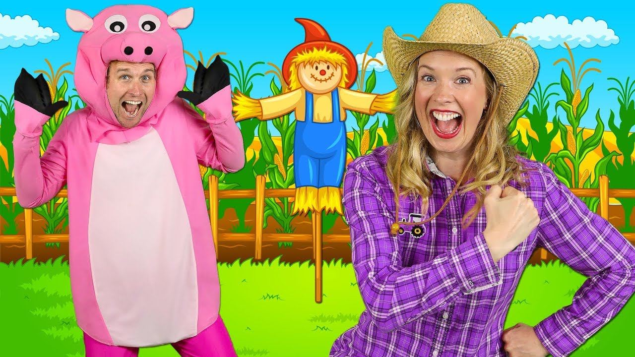 Alphabet Farm - ABC Alphabet Song for Preschool | Learn ABCs around the farm