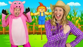 """Alphabet Farm"" - ABC Alphabet Song for Preschool 