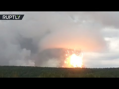 'Nuke-like' explosion at ammo depot in Russia's Krasnoyarsk region