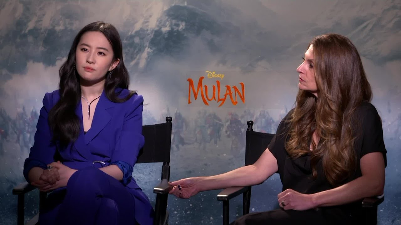 After coronavirus delays release of 'Mulan,' film's star expresses concern for grandmother living in