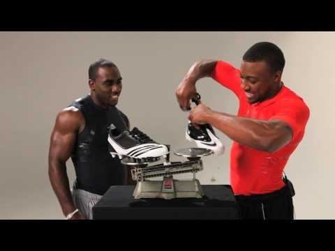 CJ Spiller And Eric Berry Reveal The Lightest Cleat In Football - AdiZero Scorch