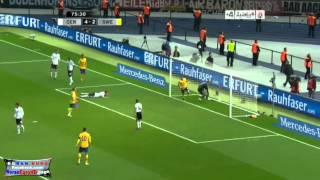 أهداف مباراة المانيا والسويد 4 - 4