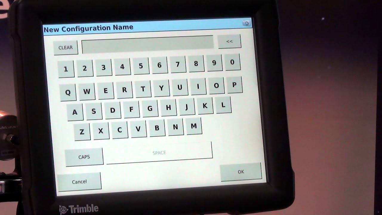 Trimble FMX Display Tutorial - System Config II