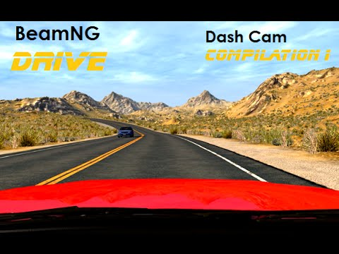 BeamNG. Drive - Dashcam Crashes Compilation 1 [Real Voices]