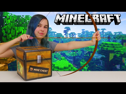 MINECRAFT OFFICIAL MONTHLY MINE CHEST OPENING | JUNGLE | RADIOJH AUDREY