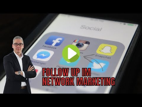 Follow up im Network Marketing