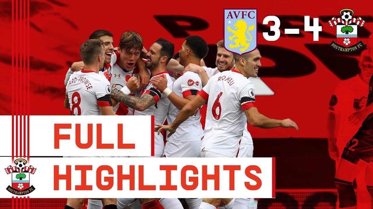 FULL HIGHLIGHTS: Aston Villa 3-4 Southampton | Premier League