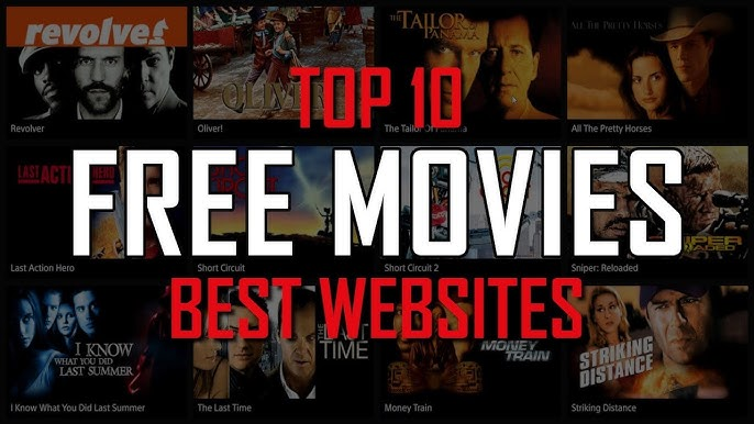 Top 10 Best FREE WEBSITES to Watch Movies Online! - YouTube