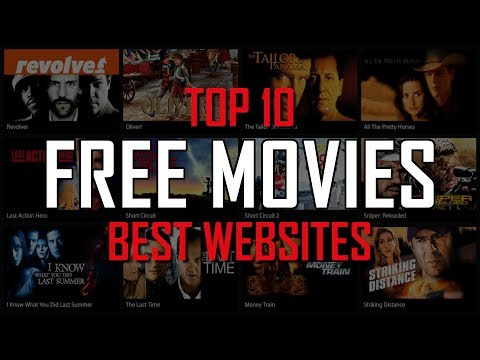 Top 10 Best FREE WEBSITES To Watch Movies Online!
