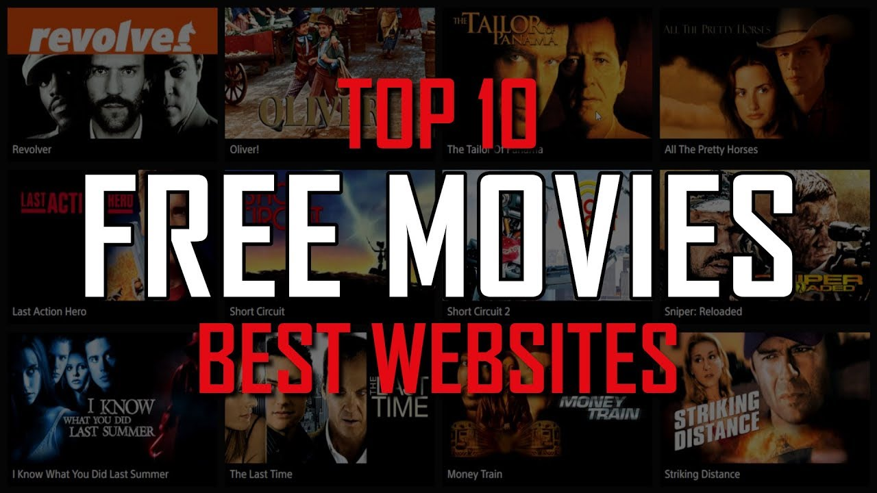 Top 10 Best Free Websites To Watch Movies Online Youtube