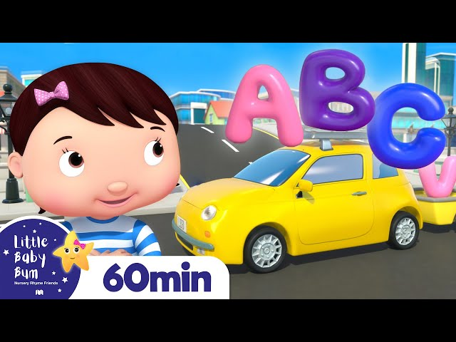 ABC Vehicles Song | +More Nursery Rhymes and Kids Songs | ABC and 123 | Little Baby Bum