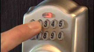 Operating Your BE365 Keypad Deadbolt