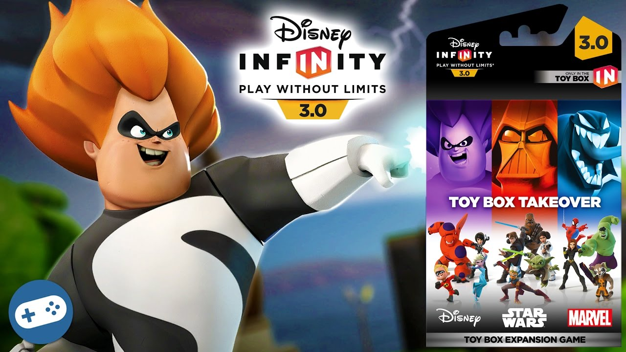 Disney Infinity 3 0 Toy Box Takeover Playset Gameplay Part 2 Youtube