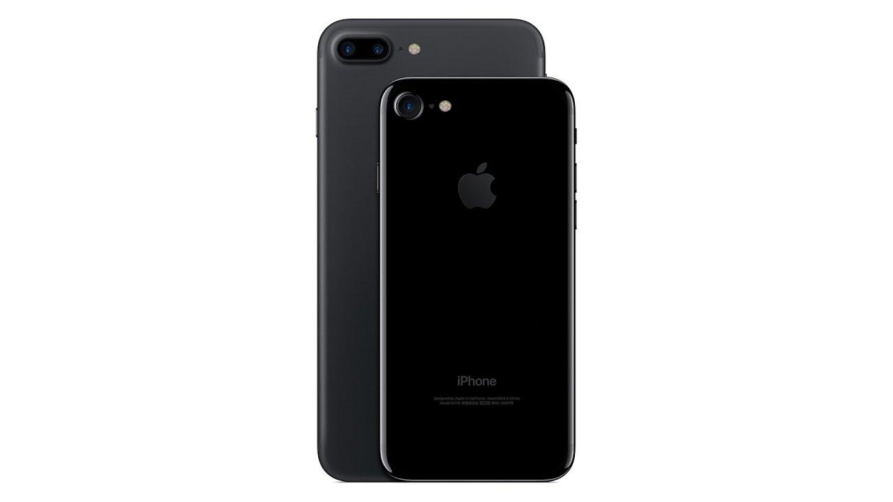 Iphone  Plus Negro Mate