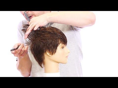 Haircut Tutorial: How to Cut a Pixie Haircut With a Razor