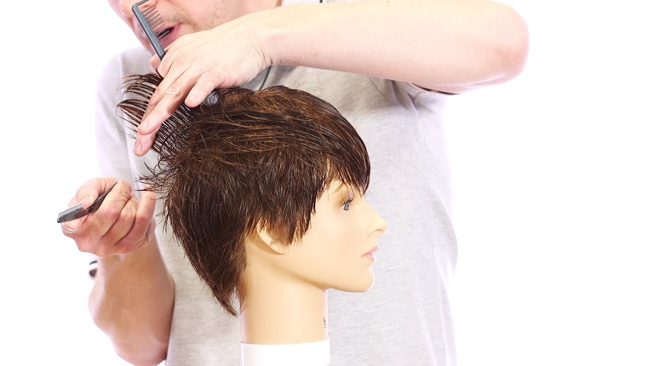 Pixie Haircut Tutorial How To Cut A With Razor Thesalonguy