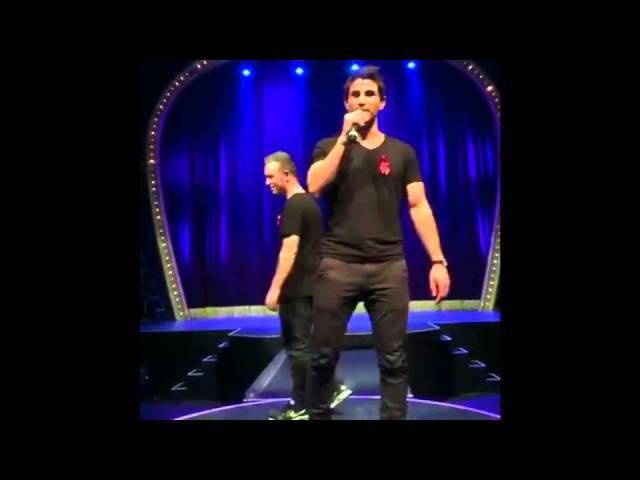 Muri, Mario og Saxoman i Cirkusbygningen 03.02.16