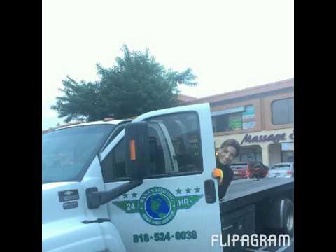 Towing Truck Van Nuys