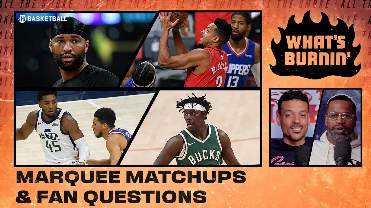 Marquee Matchups, Fan Questions, Renee Montgomery ATS Preview | WHAT'S BURNIN' | SHOWTIME Basketball