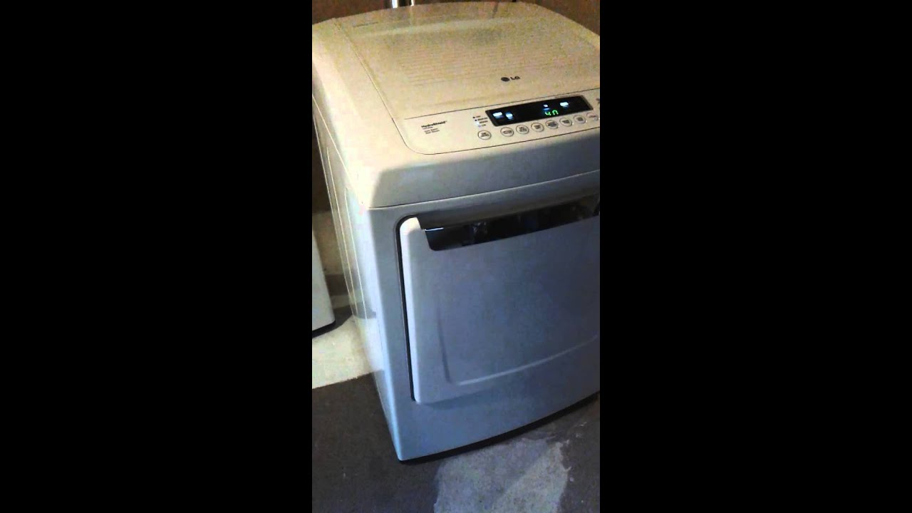 LG dryer DLE 1101W (1 of 4): dryer works if there is no load inside