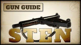 STEN Stats & Best Class Setups   CoD WW2 Gun Guide #12