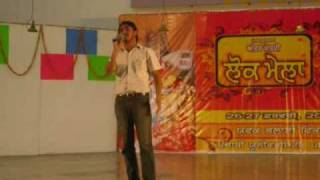 punjabi song kaale rang da yaar live singer kulwinder billa