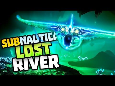 CREEPIEST SEA MONSTERS IN THE LOST RIVER - Subnautica Part 3 - New Subnautica Full Update